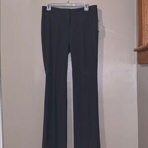 Nine West gray flare leg dress pant size 4